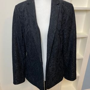 Banana Republic Black Lace Blazer